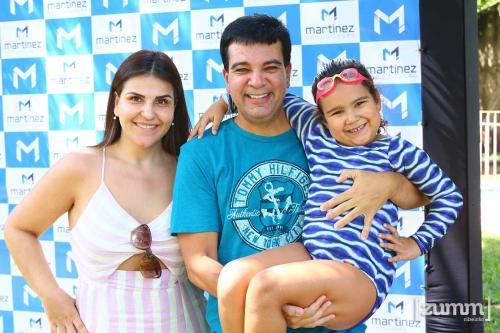 Daniela Barros, Jorge Vinicius e Maria Luísa