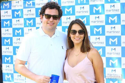 Rafael Martinez e Carla Caetano