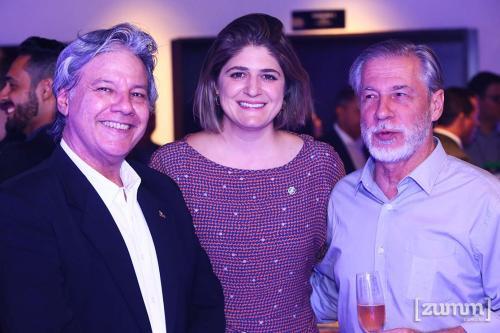 Mauro Baptista, Michele Tavares e Marcio Santiago