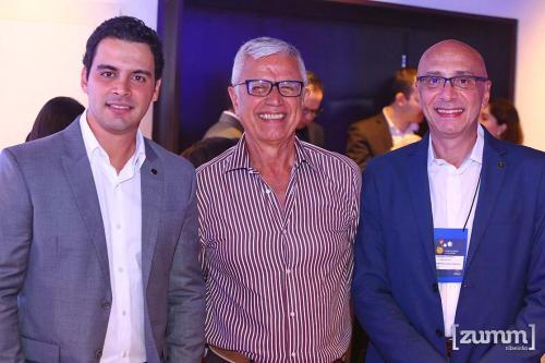 Rafael Menna, Manoel Barros e Ricardo Pompeu