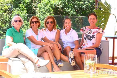 Mara Pelicioni, Mara Tonani, Mônica Fontes, Laurita Cervi e Leila Scorsolini