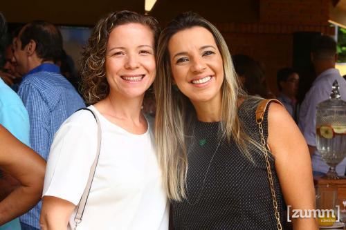 Ana Karina Abud e Mariana Oliveira