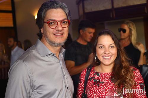 Fábio Taveira e Alessandra Spadaro