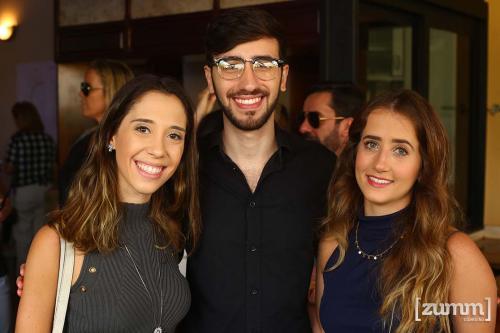 Marcela Tiraboschi, Matheus Despezzi e Lara Mattioli
