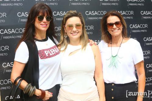 Mariana Orsi, Lu Pompei e Cristiane Petroni