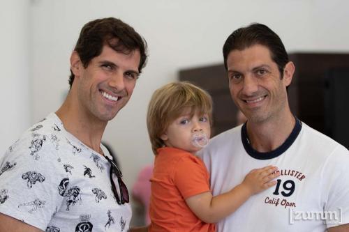 Marcelo, Hugo e Ricardo Cagno