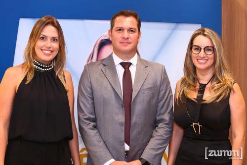 Ariane Petri, Rodrigo Fabrício e Elaine Medalhano