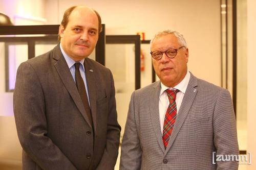 Marco Mazzaro e Álvaro Jabur
