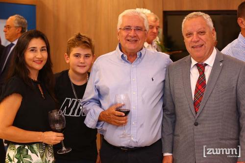 Patrícia, Nilton, Nilton Mazzer e Álvaro Jabur