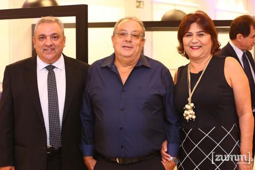 Valmir Penaforte, João Batista e Vera Campos