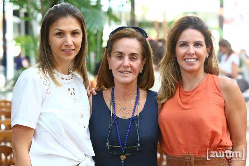 Paloma, Marina e Bruna Cardoso