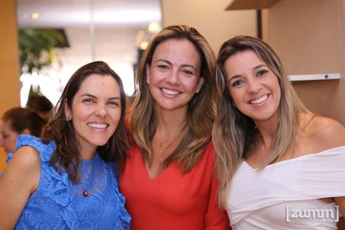 Juliana Chodravi, Roberta Alonso e Mariana Oliveira