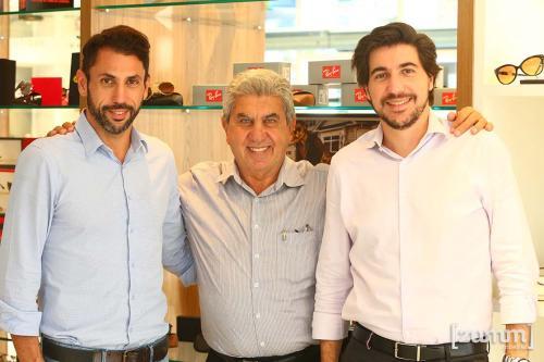 Gustavo, João e Fernando Mabtum