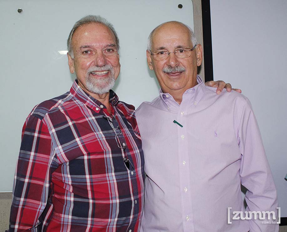 Provedor Amauri Calil e Presidente Fehosp Rogatti