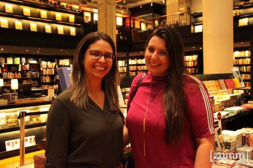 Larissa de Lucca Castro e Isabela Mendes
