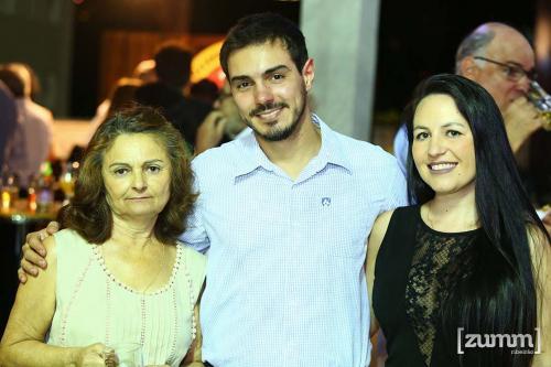 Delci, Rubens Scaliante e Luciana Ninin
