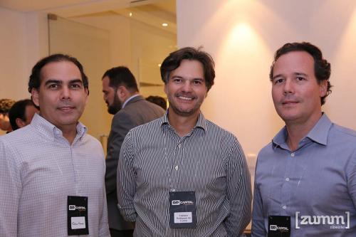 Fábio Franco, Fabiano Rodrigues da Cunha e Rodrigo Saccarelli