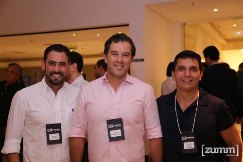 Ricardo Forcenette, Luciano Cornetti e Elso de Souza Fernades