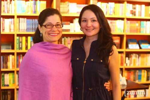 Ana Carolina e Sara Yoshikawa
