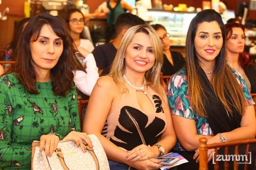 Elaine Luzia, Lorena Protasio e Rejane Damaceno