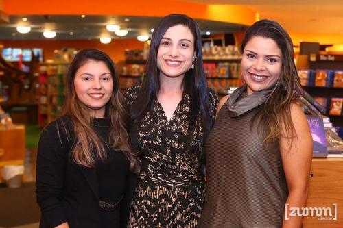 Joyce Souza, Ruhana Caliari e Michelle Andriolli