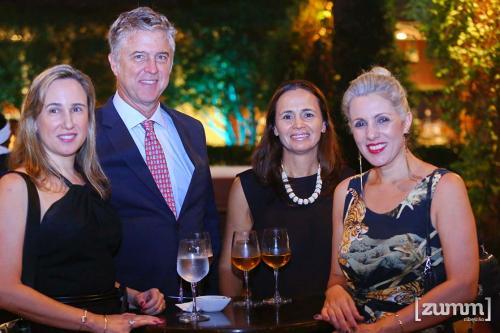 Mariela cury, Arnaldo Ribeiro pinto, Roberta morais e Letícia Felicio