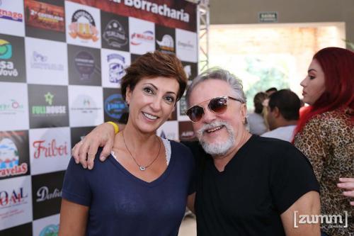 Rejane Salomão e Salvatore Laureano