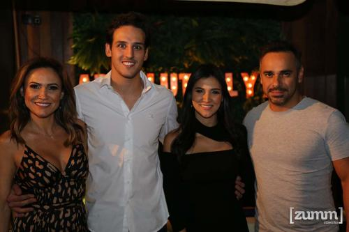 Mariluci Aragão, Felipe Togni Bruna Aragão e Marcus Raffaini