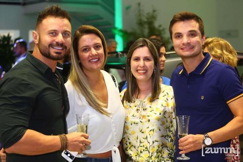 Italo Bonomi, Cláudia Melo, Letícia Monteiro e Michel Teotônio