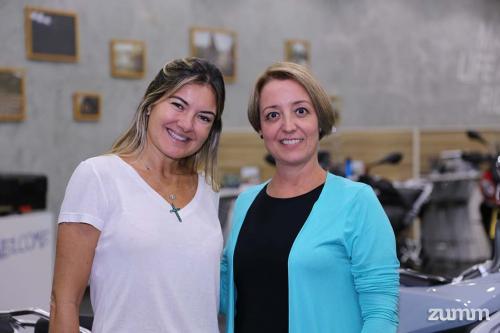 Fabiana Albuquerque e Renata Kronka