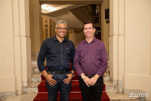 José Adilson dos Santos e Bruno Peticarrari