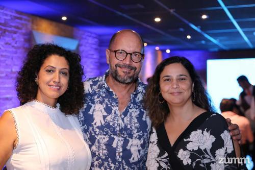 Juliane Navarro, Alvaro Filho e Loredana Costa