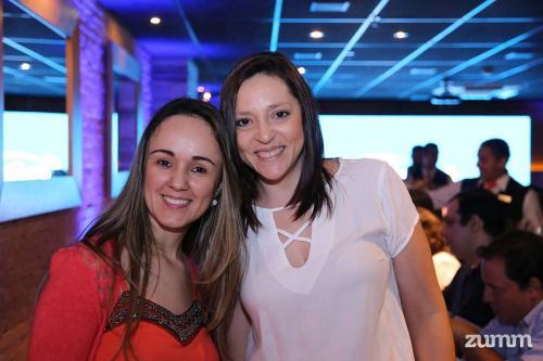 Luciane Gregorio e Elisangela Souza