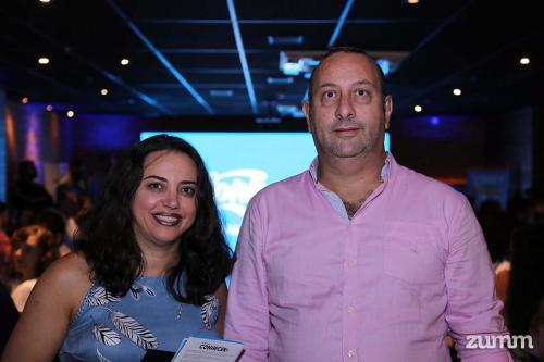 Dulce Pereira Maruan e Fathi Ibrahim
