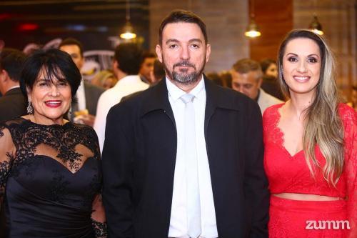 Marily Medeiros, Edvaldo Benedeti e Silvia Medeiros