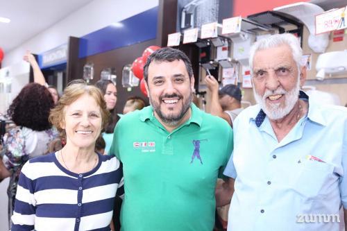 Rosana, Guilherme e Pedro Carvalho