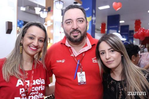 Aline Gomes, José Humberto e Renata Leite