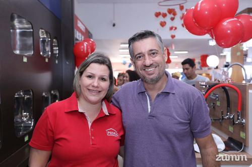 Luciane Kuhl e Wendel Catani