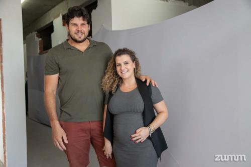 Guilherme Braghini e Marina Odoni Braghini