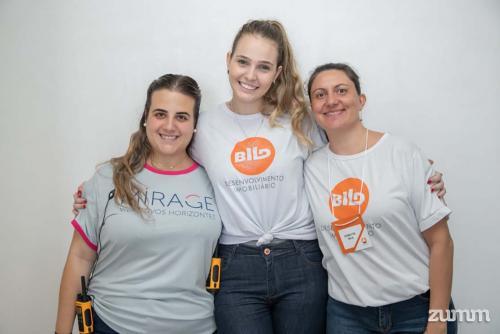 Marilia Squarizi , Maria Eduarda Ávila e Graziele Ambrosio