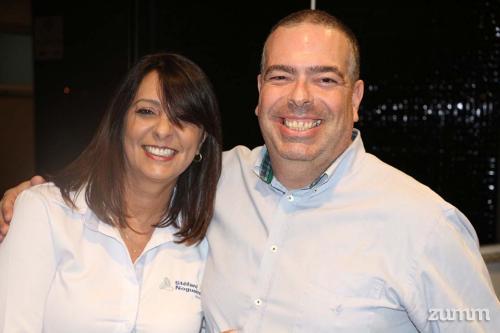 Elaine Lara e Luís Lefreve