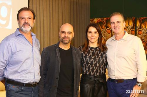 Fausto Ferreira, Leonardo Lattavo, Maura e Stelio Robusti