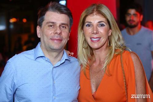 Luiz Renato e Alexandra Camperoni