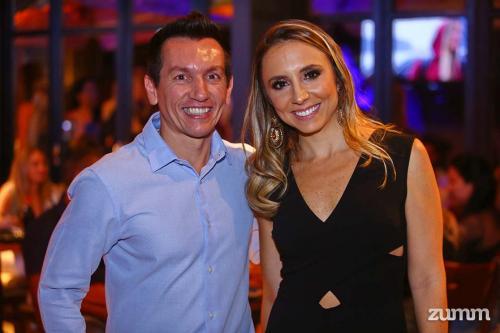 Tom Osório e Mariana Curi