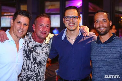 Renato Costa, André Mortari, Felipe Ackermann e Márcio Deleigo