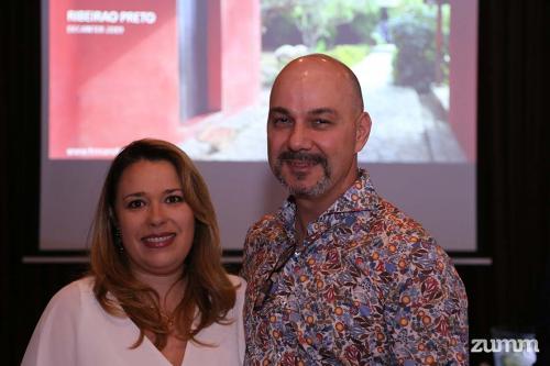 Fabiana Martins e Dimas Fausto