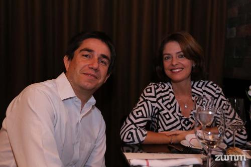 Gonzalo Badilla e Carla Salvetti