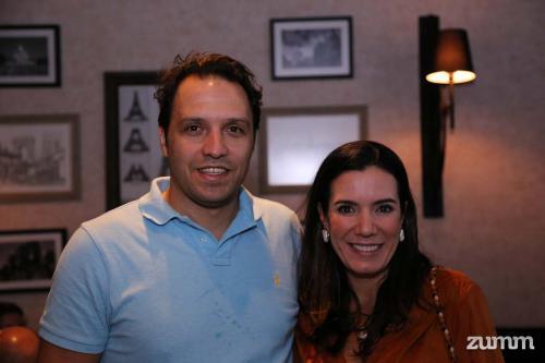 Marcelo OLiveira e Lucila Jorge