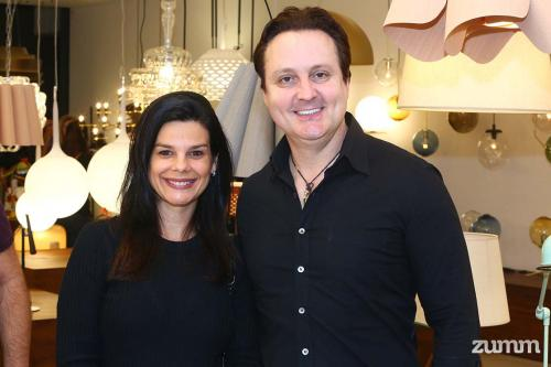 Cristiana Monteiro e Geraldo Fossa Jr