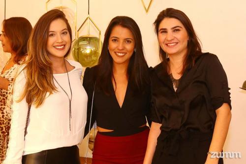 Francielle Ozarias, Thabata Von Sohsten e Thalita Belezine